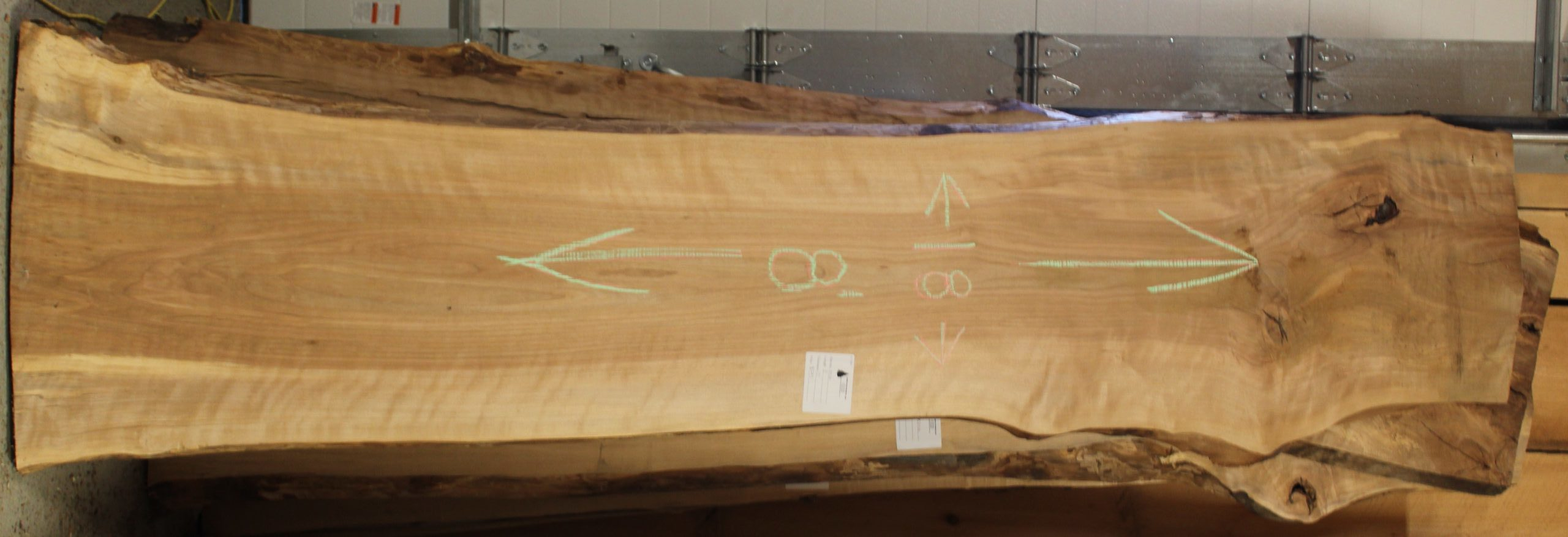 Birch Live Edge Slab 19-225